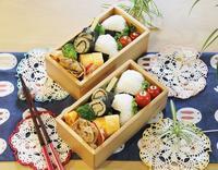 海苔巻きチキンと明太子おむすび弁当♪ - ☆Happy time☆