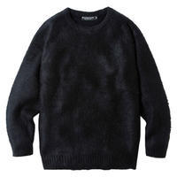 68&BROTHERS Mohair Crew Neck Sweater - trilogy news