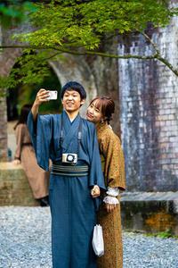 着物でGo To ... -1- - ◆Akira's Candid Photography
