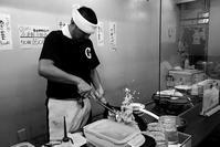 和田「一文字結」で塩ラーメンと炒飯 - ぶん屋の抽斗