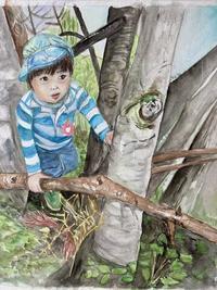 木登り大好き4歳です。 - バラのある幸せな暮らし研究所
