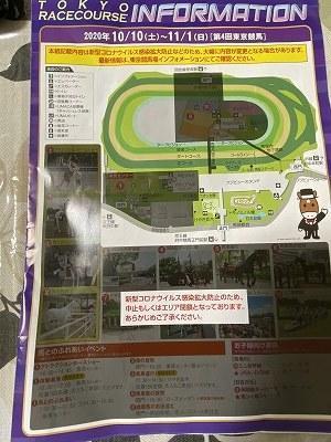 コロナ入場制限中の東京競馬場風景(第4回東京競馬2020年10月現在の営業店舗) - 愛しのサラブレッド写真館