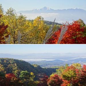 秋色の信州 横谷観音展望台・御射鹿池など素晴らしい景色!信州・山梨の旅② - ♪ミミィの毎日(-^▽^-) ♪