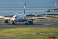 出勤時間帯のガルーダ - まずは広島空港より宜しくです。