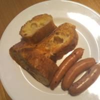 フレンチトーストとソーセージ、口直しにヨーグルト - Hanakenhana's Blog