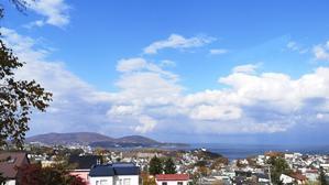 海の見えるレストランって何か良いでわ - 札幌で白磁に簡単絵付け Ky's gallery  ポーセラーツ 日記