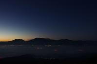昨日に続き大観峰の夜明けと男池 - 軟弱足 の山歩き