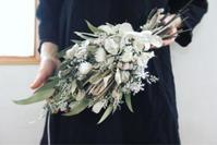 NHKカルチャーさいたまアリーナ教室 - driedflower arrangement ✦︎ botanical accessory ✦︎ yukonanai ✦︎