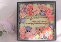 フラワーケーキのスペシャリスト長嶋清美先生の美し過ぎる「Boxフラワーケーキ」 - バラとハーブのある暮らし Salon de Roses