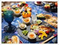 ハローウィン的食卓@おうち('ω') - ほっこりほっこりしましょ。。