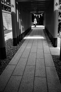穴守稲荷境内にて - photolog-ミヤコワスレ