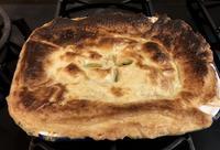冷凍パイシートでチキンポットパイとおまけのアップルパイもどき。 - ハギスはお好き?