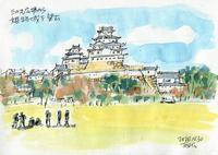 大修理後の姫路城へ(2)まだ観光客は戻らない - デジの目