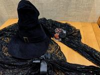 ☆魔女の帽子とストール・久々に活躍☆ - ガジャのねーさんの  空をみあげて☆ Hazle cucu ☆
