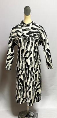 木綿混のワンピース - 私のドレスメイキング