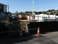 東3・4・15の2号(上清戸)擁壁工事2020年10月 - ひのきよ