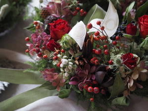 11月の花教室お知らせ、「キット販売」 -