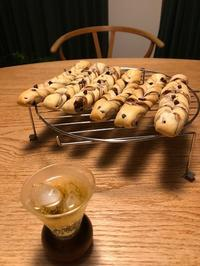 チョコチップパンを仕込みながら - スタジオ紡