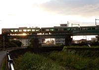 初めの鉄橋 - 比売河線 藍沼駅(ひめかわせん あいぬまえき)