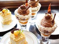 横浜「ホテルニューグランド」11月限定スイーツ「和栗のショートケーキ」と「モンブランパフェ」 - 笑顔引き出すスイーツ探究