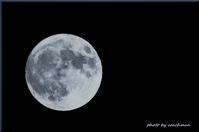 今夜の満月 - 北海道photo一撮り旅