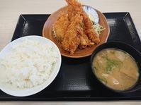 11/1 かつや川越的場店 秋の海鮮フライ定食¥759 - 無駄遣いな日々