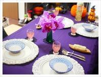 ハローウィンの食卓@おうち②('ω') - ほっこりほっこりしましょ。。