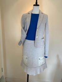 圧縮ウールのジャケットとスカート - ★ Eau Claire ★ Dolce Vita ★