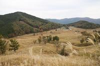 砥峰高原の正面に見える山に - 静かな時間