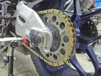 K5サン号 YZF-R1Mとたむ兄ぃ号 デイトナ675Rのファイナル変更やタイヤ逆履きで富士カート対策・・・(^^♪ - バイクパーツ買取・販売&バイクバッテリーのフロントロウ!