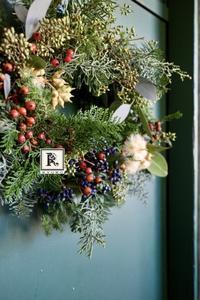 ご案内🎄2020 Christmas Wreath  One Day Lesson🎄 クリスマスレッスンのご案内です - Bouquets_ryoko