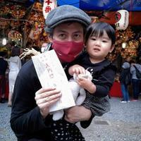 新宿、花園神社、一の酉前夜祭にて。 - リカヤ超特急