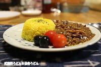 木徳神糧タイ香り米・魯肉飯とカーンさんのチキンカレー辛口・しめじとガルバンゾ入りのキーマカレー - 武蔵野うどん&田舎うどん 2杯目