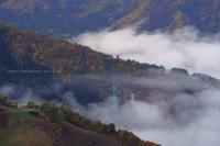 野沢温泉村雲海と紅葉と初雪と - 野沢温泉とその周辺いろいろ2