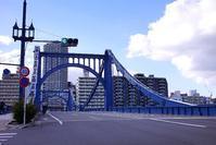 再び清洲橋☆青空 - さんじゃらっと☆blog2