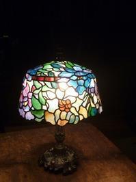 ピオニーのランプ - atelier GLADYS  ステンドグラス工房 作り手の日々