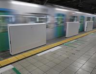 所沢駅ホームドア設置工事(2) - ひのきよ