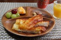 焼きチーズパン(米粉パン)と保育園のお迎え - 60代からの女道