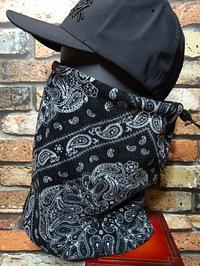 RealMinority リアルマイノリティー バンダナ柄 ネックウォーマー (company)bandana カラー:ブラック 1,980円(内税) 再入荷 - ZAP[ストリートファッションのセレクトショップ]のBlog