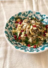 秋の味覚!キノコと栗のパスタは手打ちパスタで - 幸せなシチリアの食卓、時々にゃんこ