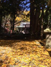 静かなり、磐梯神社 - 猪苗代からのぽぽんた通信