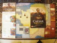 (GMT最新作) Caesar: Rome vs. Gaulシモニッチ御大によるHannibal直系のカードドリブン!! - YSGA 例会報告