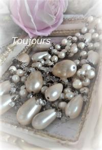 しずくパールのネックレス - Bijoux  du  Bonheur ~ビジュー ドゥ ボヌール~