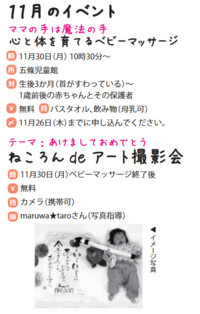 11月撮影会のお知らせ - maruwa★taroのFelt Factory
