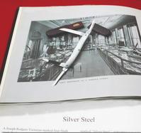 J・ロジャース4ブレードのエキシビションナイフ - 銀器とナイフに魅せられて