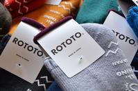 ROTOTOの冬小物 - DAKOTAのオーナー日記「ノリログ」