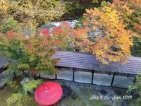 ◆ また行きたい「紅葉の湯西川、日塩もみじライン」(2020年11月) - 空とグルメと温泉と
