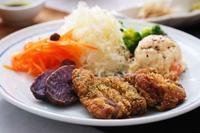 バジルパン粉で「豚カツ」 - 登志子のキッチン