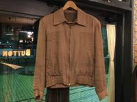 50's unknown gabardine jacket - BUTTON UP clothing
