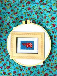 プラナカンビーズ刺繍丑年 - プラナカンビーズ刺繍  ビーズワークと旅